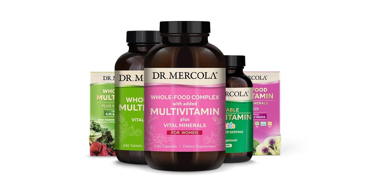 Multivitamin Plus Vital Minerals - High-Potency Antioxidant