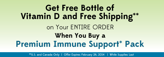 Premium Immune Support Pack Offer