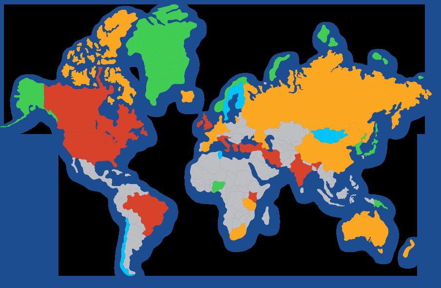 Global Omega-3 Index Levels