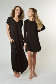 Maxi and T-shirt dress