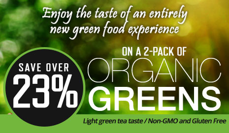 Organic Green Special Offer