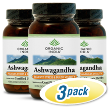 Organic India Ashwagandha 3-Pack