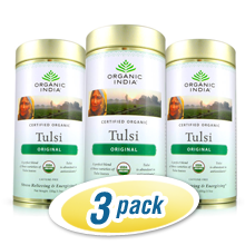 Tulsi Loose Tea Tin 3-Pack