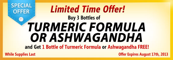 Herbal Supplements Special Offer