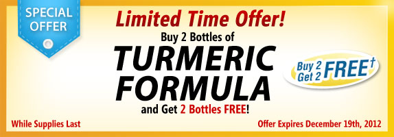 Turmeric Formula Special Offer!