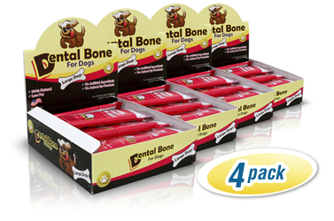Dental Bones for Large Dogs 4-Pack