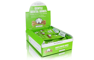 Medium Gentle Dental Bones (12 bones per box): 1 box