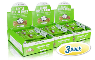Gentle Dental Bones for Large Dogs 3-Pack