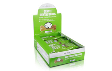 Small Gentle Dental Bones (12 bones per box): 1 box
