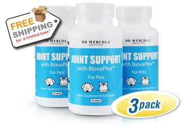 Joint Support for Pets 3-Pack