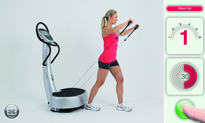 power plate fitness equipment whole body workout. Black Bedroom Furniture Sets. Home Design Ideas