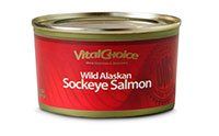 Vital Choice's Canned Wild Sockeye Salmon