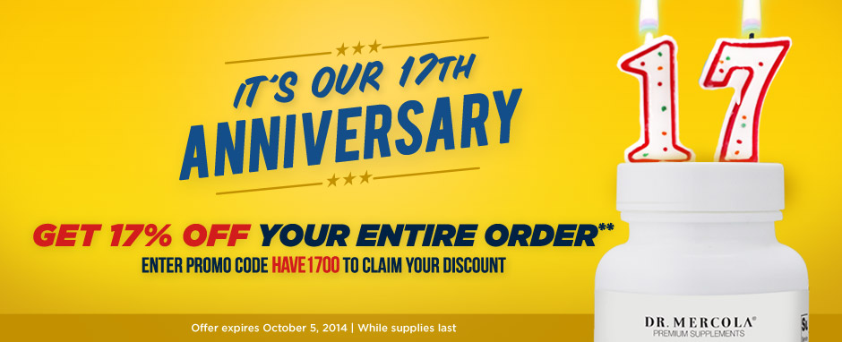 17th Anniversary Sale