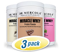 Miracle Whey Protein Original 3 Pack