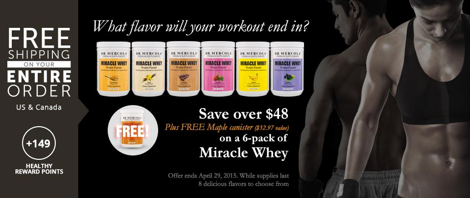 Miracle Whey Special Offer