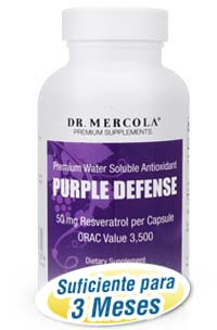 Purple Defense (Botella con 90 Capsulas)