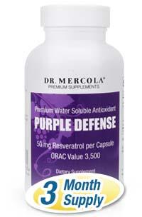 Purple Defense 3-pack