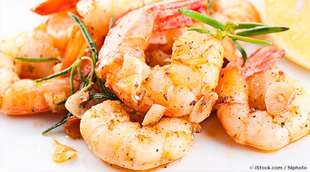 fried garlic shrimp