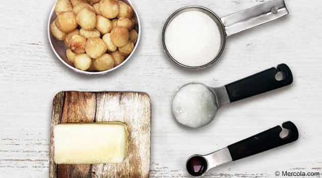 Receta de Fudge de Macadamia
