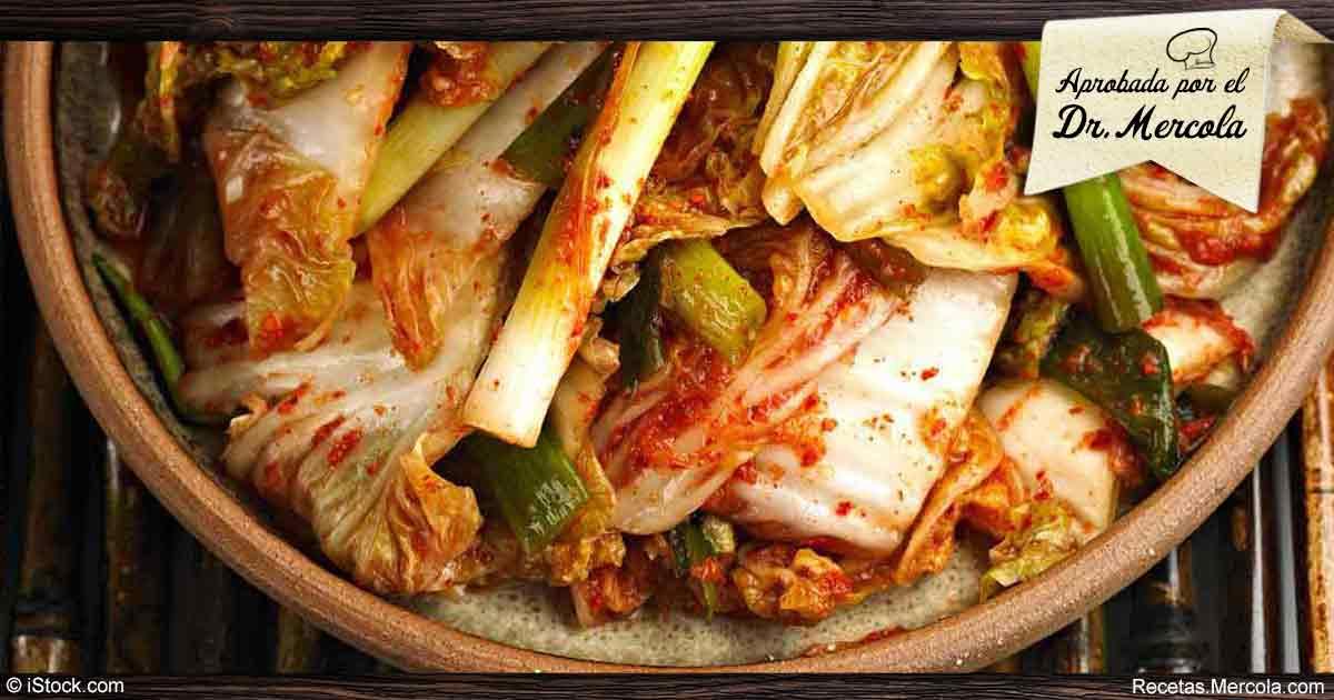 Sencilla Y Saludable Receta De Kimchi Coreano
