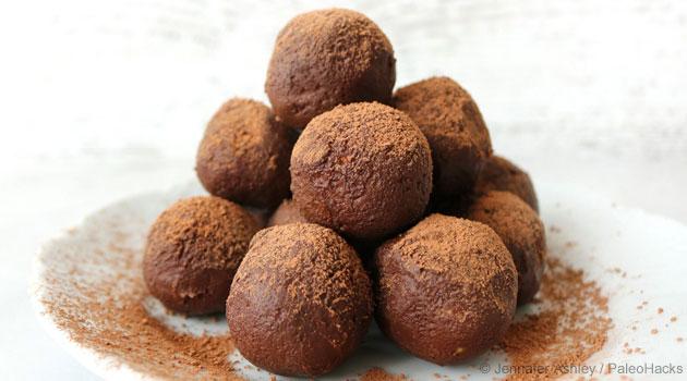 Deliciosa Trufas de Chocolate Ricas en Grasa