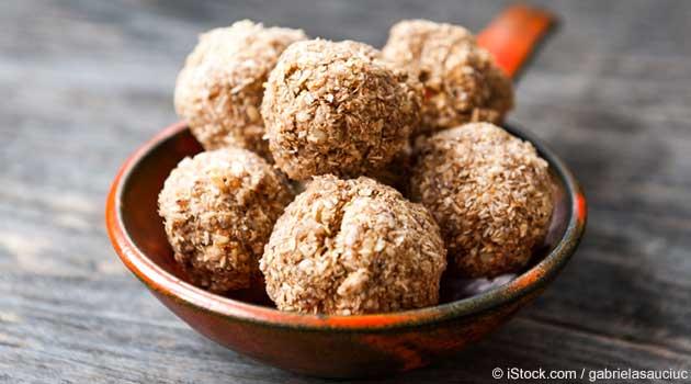 Appealing Almond Butter Balls Recipe