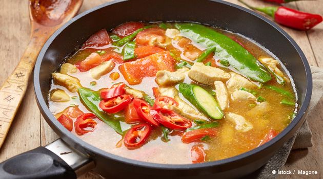 Asian Chicken and Chilies Soup Recipe