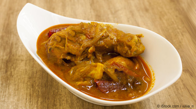 Fiery and Spicy Crockpot Chicken Curry Recipe