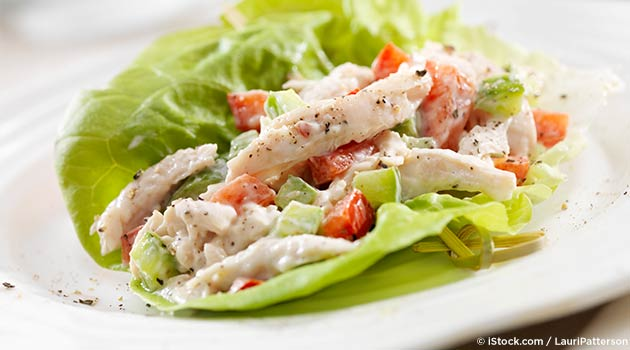 Coconut-Infused Chicken Lettuce Wraps Recipe