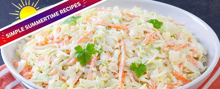Fresh and Crunchy Coleslaw Recipe