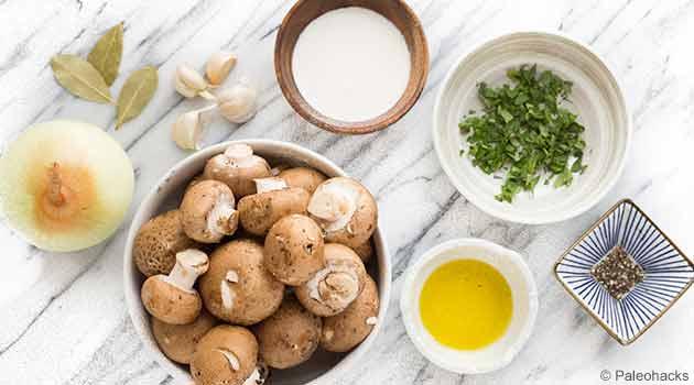 Cream of Mushroom Ingredients