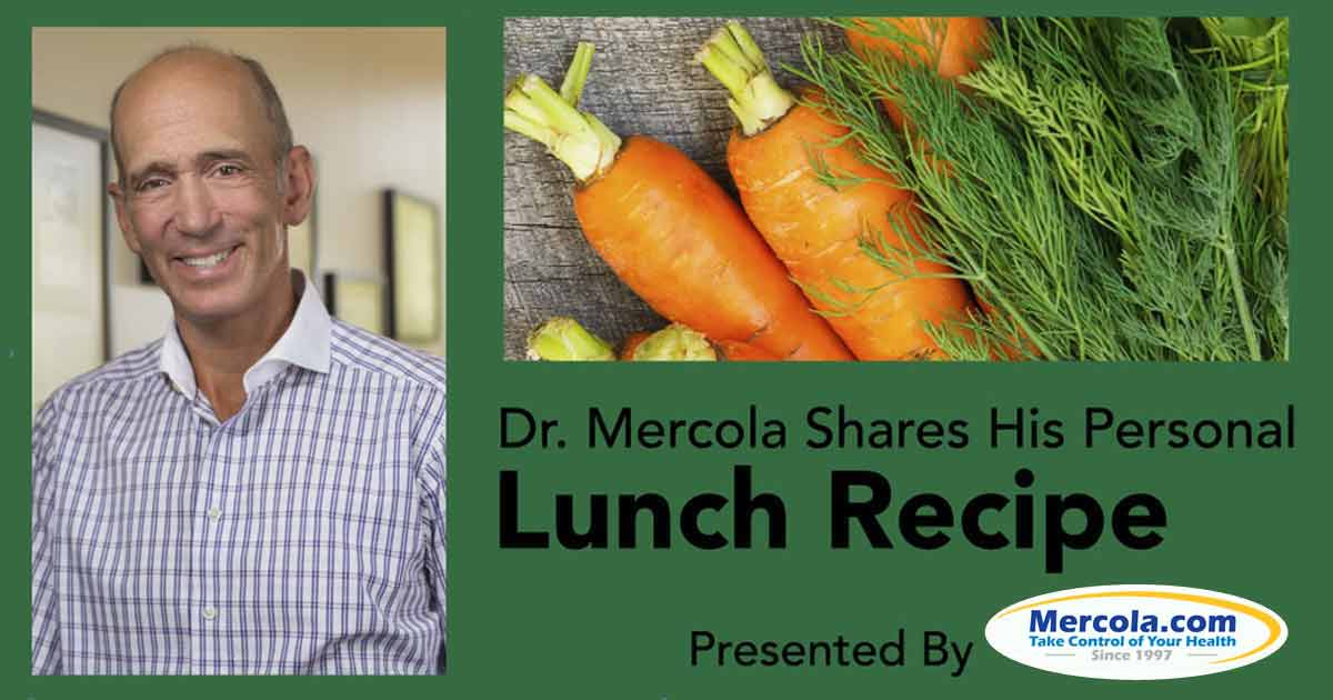 Dr Mercola S Healthy Lunch Recipe