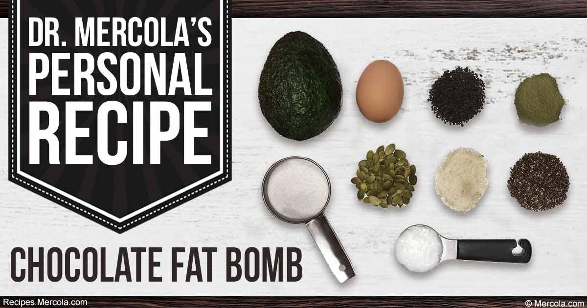 Kết quả hình ảnh cho Dr. Mercola's Chocolate Fat Bomb Recipe