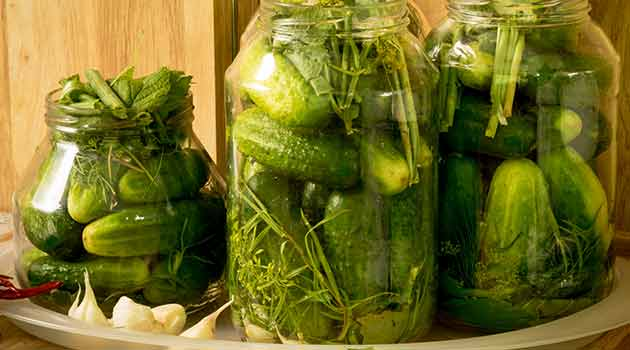 flavorful homemade pickle recipe