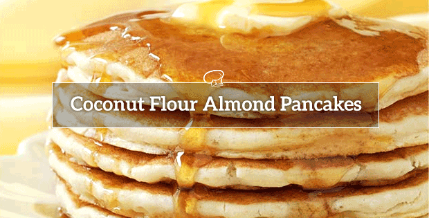 Coconut Flour Almond Meal Pancakes