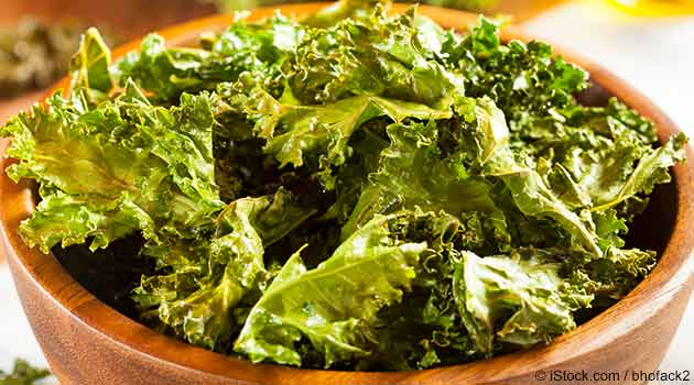 Simple and Crunchy Kale Chips Recipe