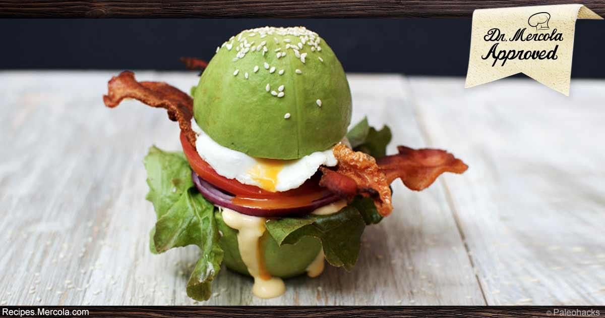 Keto Breakfast Burger Recipe
