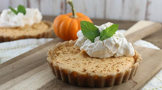 Keto No-Bake Pumpkin Pie Cheesecake Recipe
