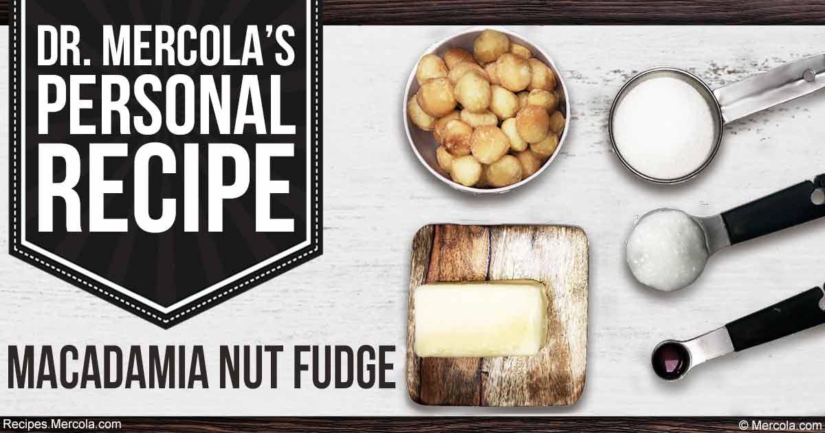 Kết quả hình ảnh cho Dr. Mercola's Macadamia Nut Fudge Recipe