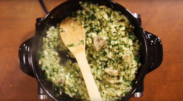 Mouthwatering Moringa Cauliflower Fried 'Rice'
