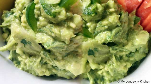 Probiotic Guacamole Recipe