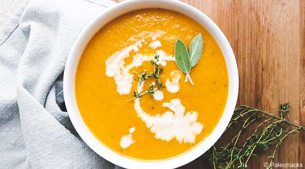 Keto-Friendly Aromatic Pumpkin Soup
