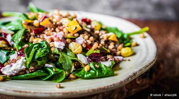 Quinoa Salad with Mixed Veggies Recipe