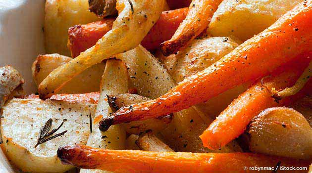 Healthy Roasted Root Vegetable