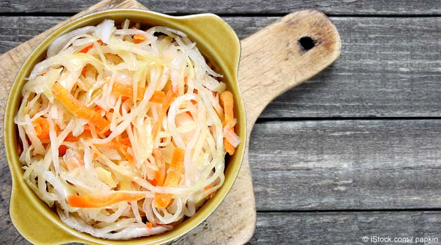 Raw Sauerkraut Recipe