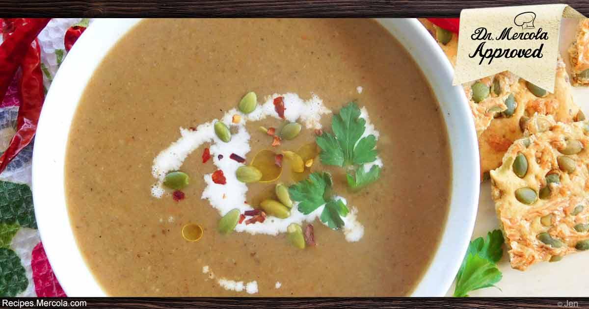 Shiitake Mushroom Soup Recipe