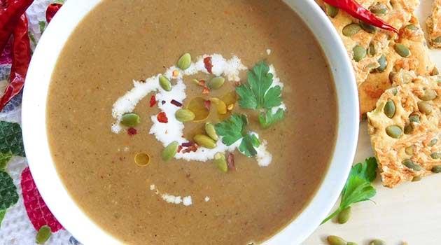 Comforting Shiitake Mushroom Soup