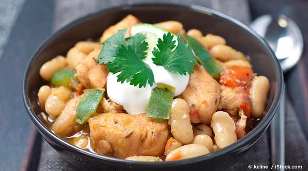 Slow Cooker White Chicken Chili Recipe