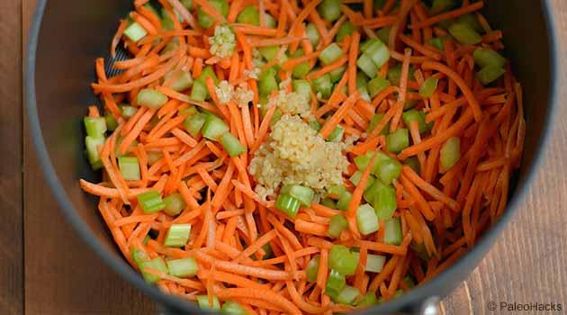 Vegetable Soup Step1