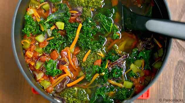 Vegetable Soup Step3